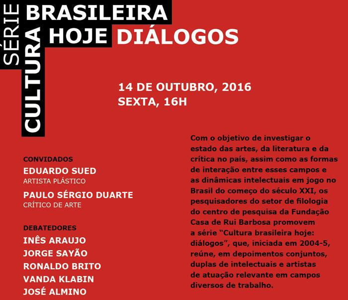 serie cultura brasileira hoje