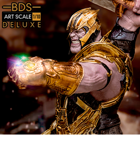 AVENGERS: END GAME BATTLE DIORAMA SERIES THANOS 1/10 ART SCALE STATUES
