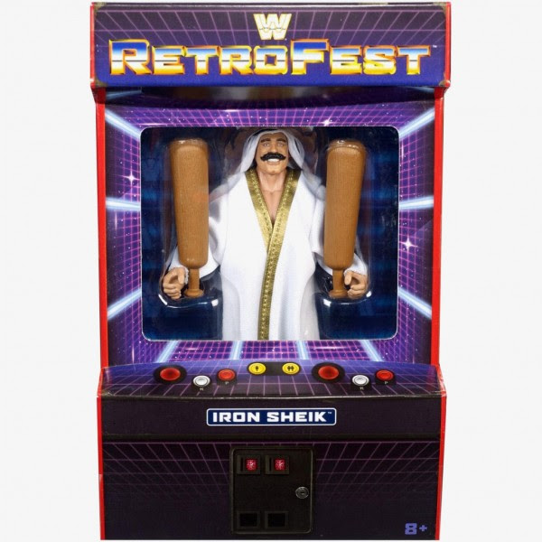 Image of WWE Retrofest Iron Sheik Action Figure