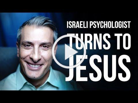 Jewish Israeli Psychologist finds Jesus