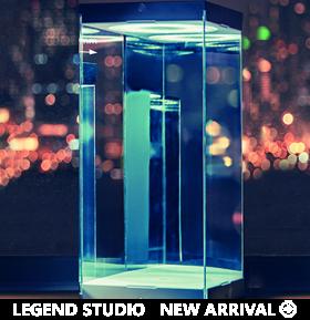 Legend Studio Master Revolving House (Black 03)