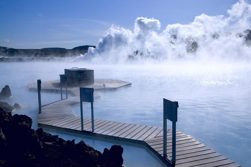 A dip in the hot springs will leave you feeling rejuvenated.