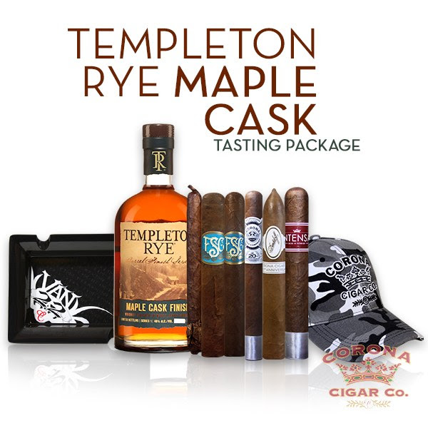 Image of Templeton Rye Maple Cask / FSG Tasting Package