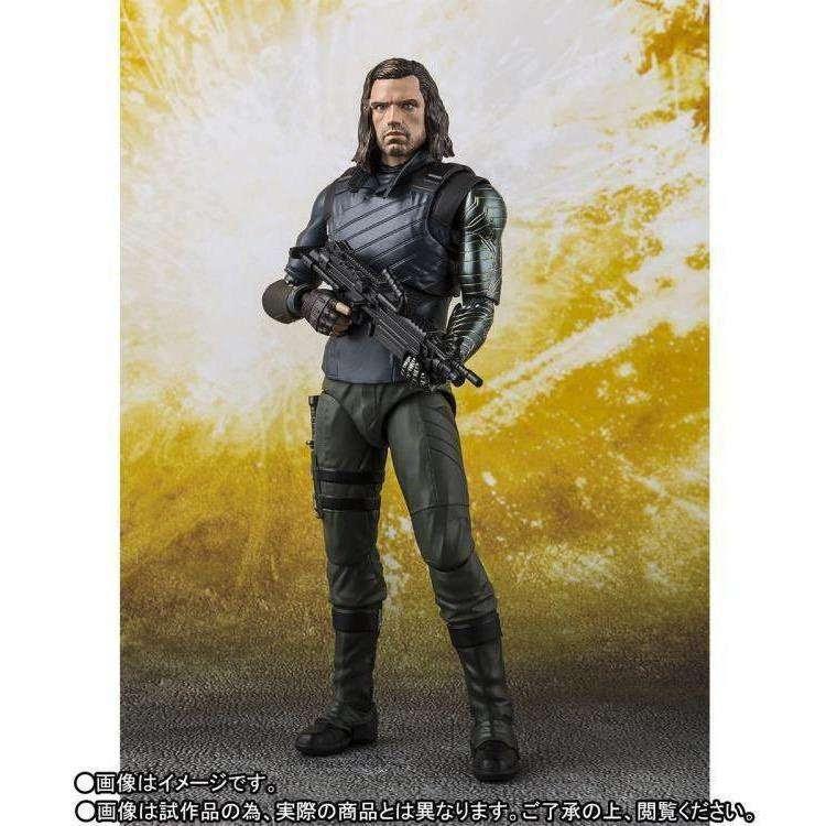 Image of Avengers: Infinity War S.H.Figuarts Bucky & Tamashii Effect