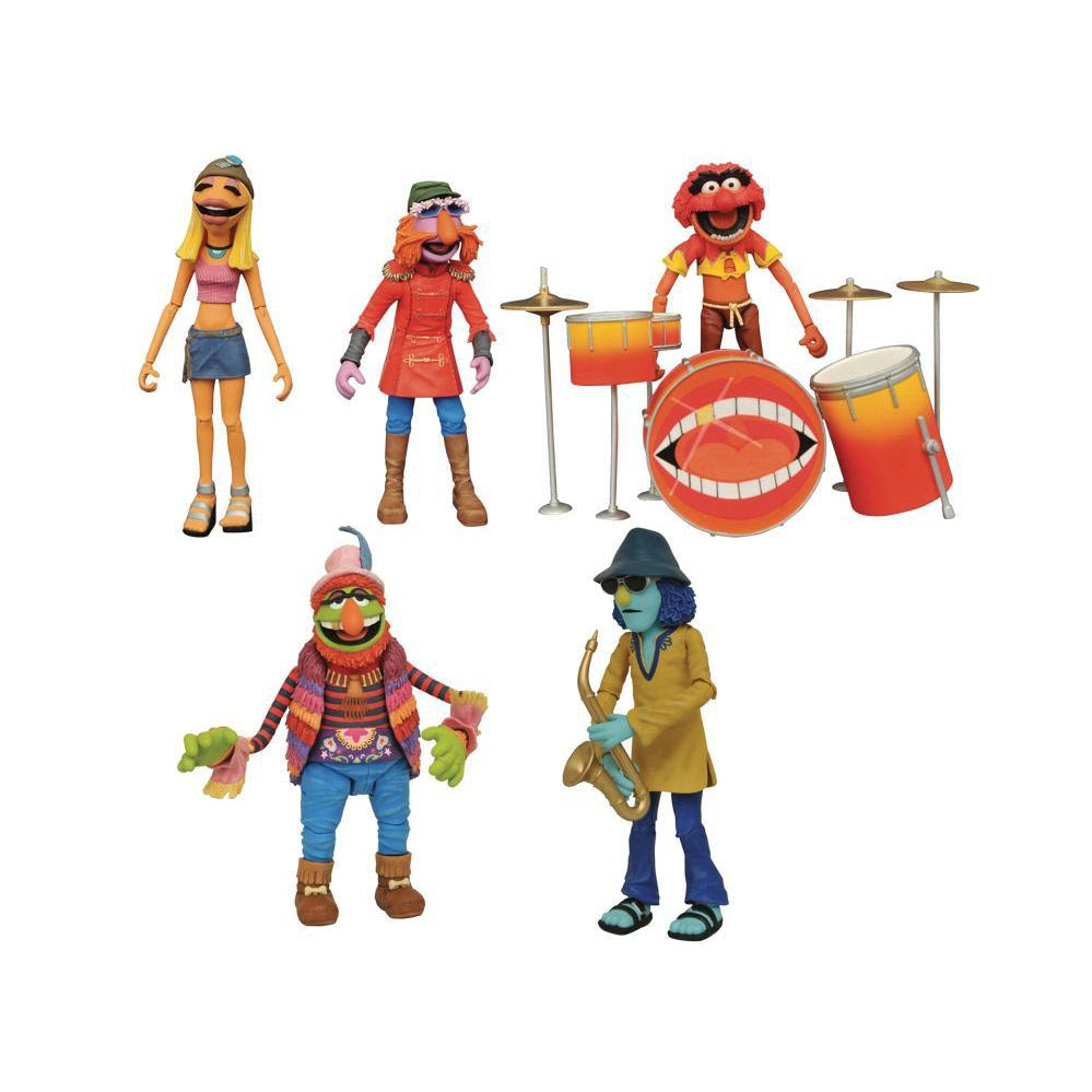 Image of Muppets Electric Mayhem Deluxe Action Figure Box Set - San Diego Comic-Con 2020 Previews Exclusive