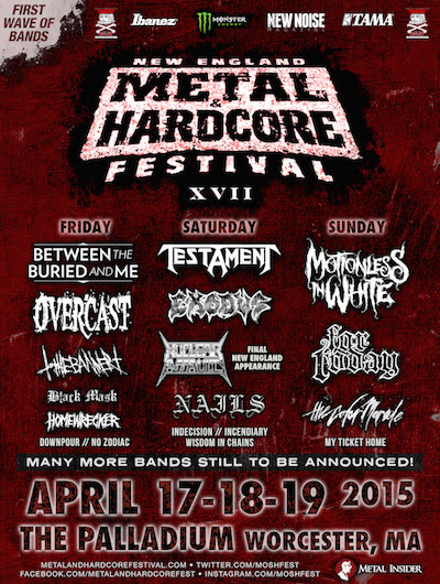 new england metal hardcore fest