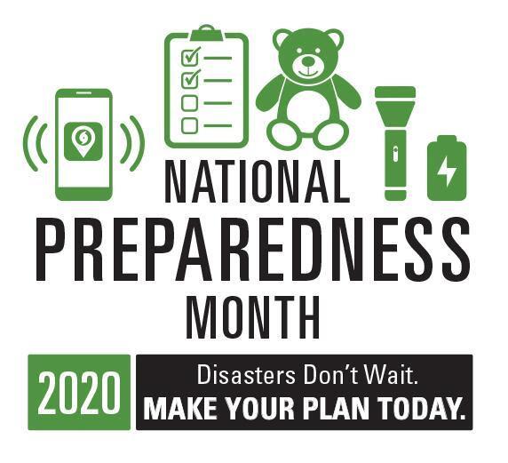 national prepardness month logo