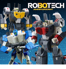 ROBOTECH 30TH ANNIVERSARY FIGURES