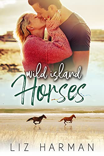 Cover for 'Wild Island Horses'