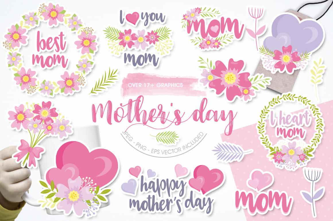 Free Mother's Day by Prettygrafik