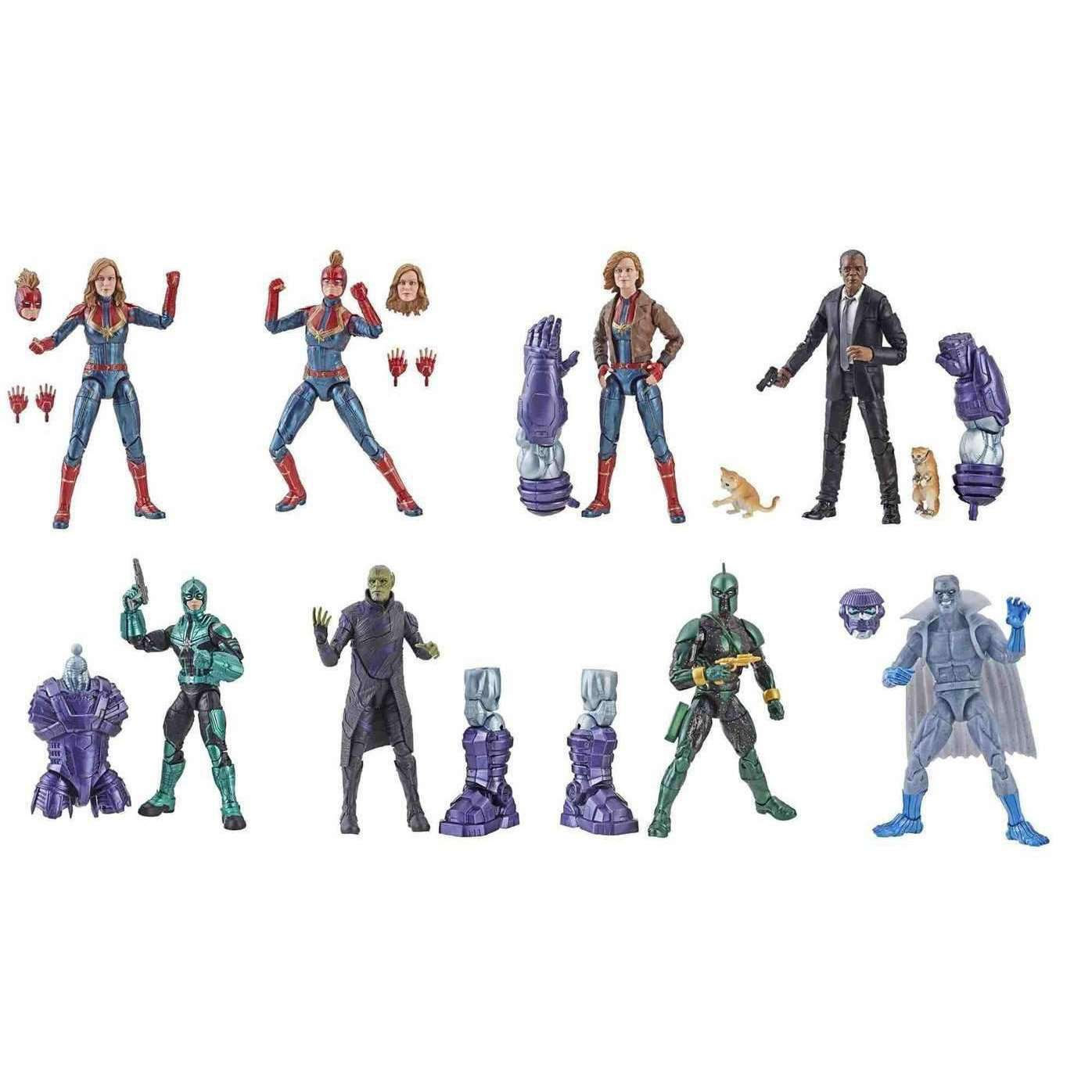 Image of Marvel (Kree Sentry BAF) Marvel Legends Wave 1 - Complete Case of 8 - JANUARY 2019
