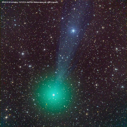 Signs In Heavens: Bright Comet Lovejoy Set to Light Up Christmas & the New Year