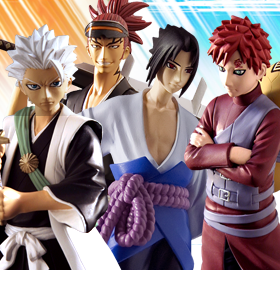 Naruto Shippuden & Bleach Viz Collection Series 2