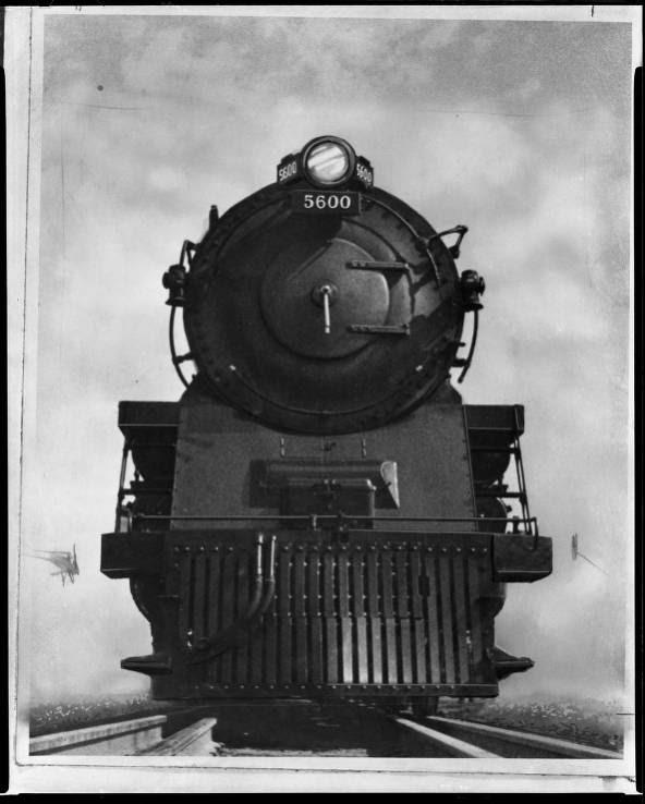 B&O Railroad Class N-1 Locomotive (4-4-4-4)
