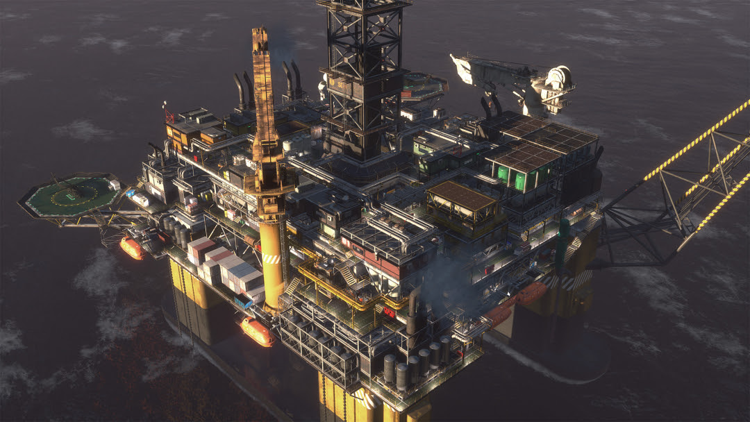 Ground Branch Upcoming Oil Rig Map
