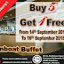 Promosi 3 hari Steamboat Buffet