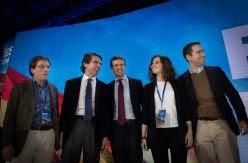 Casado impone el discurso duro en la convención del PP pese a las llamadas a la moderación de sus barones