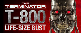THE TERMINATOR LIFE SIZE BUST