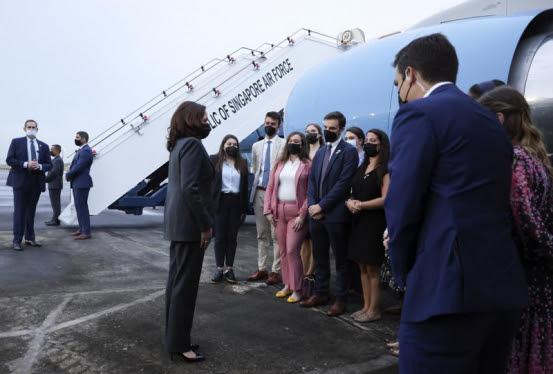Possible Havana syndrome incident delayed Harris flight to Vietnam