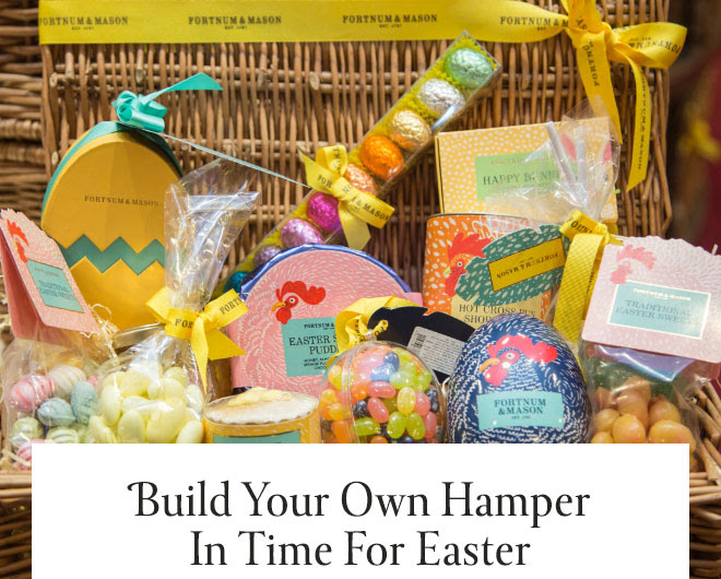 BUILD YOUR OWN HAMPER IN TIME FOR EASTER