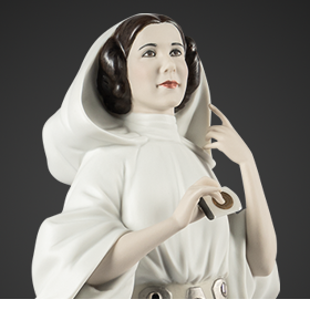 Star Wars Princess Leia (A New Hope) Porcelain Statue