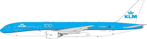 PH11579 | Phoenix 1:400 | Boeing 777-200ER  KLM PH-BQD,'100 years' | is due: January 2020