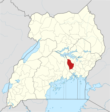 Kamuli District, Uganda. (OpenStreetMap contributors, Jarry1250, NordNordWest)