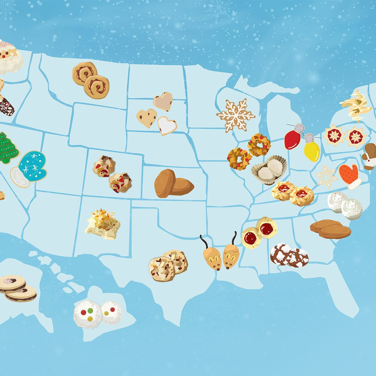 The Best Christmas Cookie from Every State