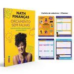 Livro - Orçamento Sem Falhas - Brinde Cartela de Adesivos + Planner