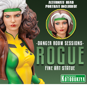 DANGER ROOM SESSIONS ROGUE FINE ART STATUE