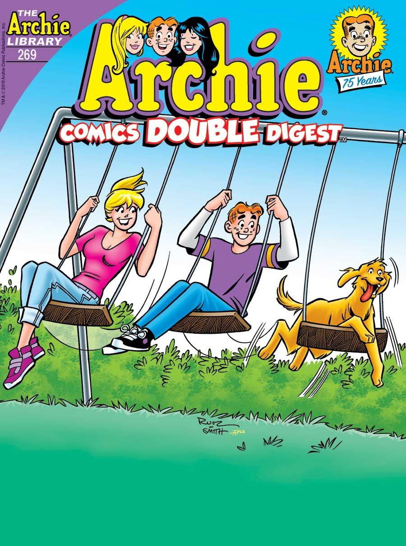 Archie Comics Double Digest #269 Cover by Fernando Ruiz