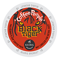Coffee People Black Tiger Keurig Kcup Coffee