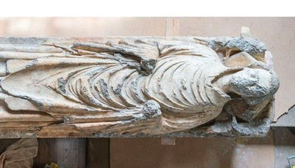 Medieval Effigy Found Hidden Beneath English Church's Pipe Organ