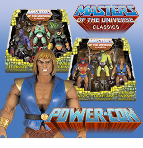 MOTU CLASSICS 3-PACK POWER-CON 2017 EXCLUSIVES