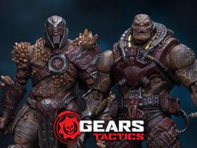 Gears of War 1/12 Scale Figures