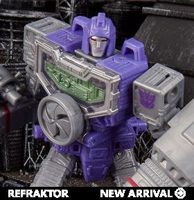 Transformers War for Cybertron: Siege Deluxe Refraktor