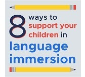 8 ways parents can support children in language immersion