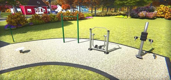 Winchester 1 Park rendering