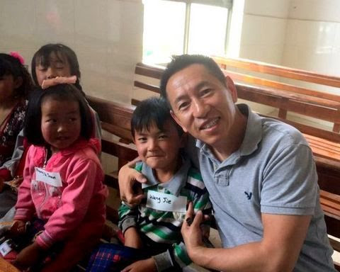 Eric Zhang, a board member of Blessing Hands, asked us to help in Yunnan, his home province.