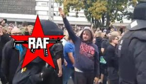 German media admits: Man who made Hitler salute at Chemnitz rally is actually a Leftist infiltrator