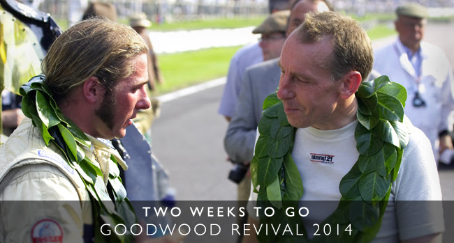 Goodwood Revival - Just two weeks to go...
