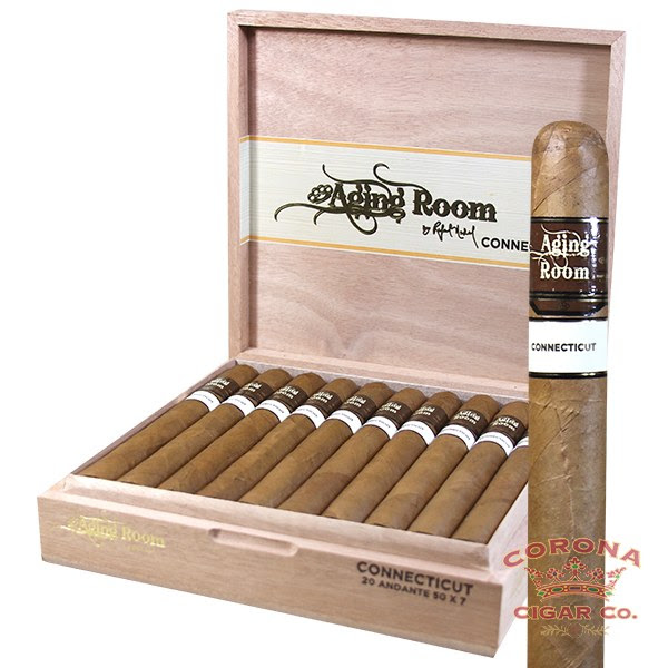 Image of Aging Room Core Connecticut Andante Cigars