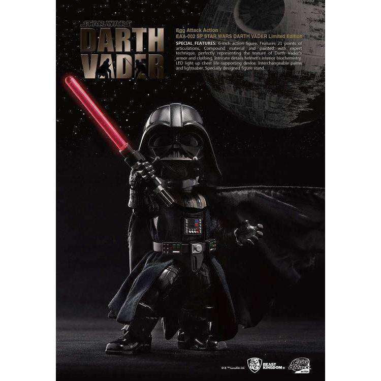 Image of Star Wars Egg Attack Action EAA-002 SP Darth Vader SDCC 2015 Exclusive
