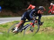 Durante cinco horas, 31 minutos y 24 segundos, el ciclista ecuatoriano del equipo Ineos Grenadier recorriólos204 kilómetros del tramo en la ciudad italiana de Censenatico.