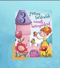 Mesés karácsony -Mesék hercegnőkről - 3 perces történetek - Hilary Roper