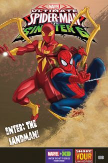 Marvel Universe Ultimate Spider-Man Vs. the Sinister Six #8