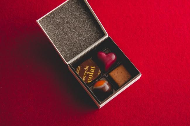 【バレンタイン限定】 ボンボンショコラ アソートメント(4個入り)