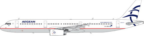 PH11576 | Phoenix 1:400 | Airbus A321 Aegean SX-DNH | is due: January 2020