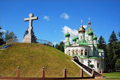 Братська могила 1345 російських воїнів