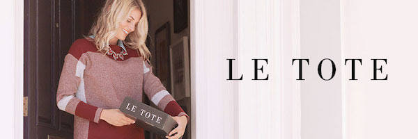 50% Off First Month at Le Tote...